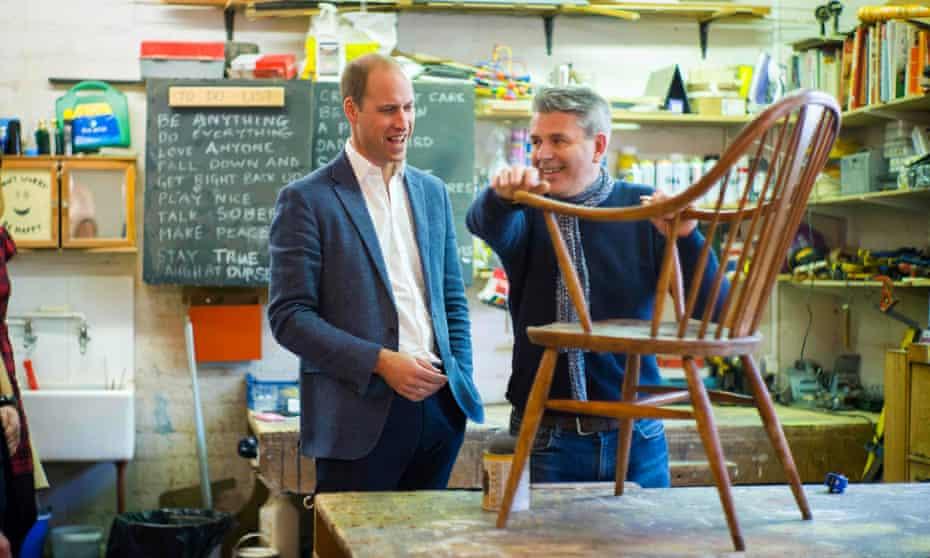 Prince William at trust.