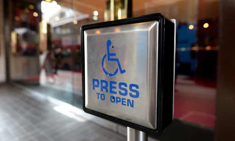 'Minor changes make a big difference for disabled people.'