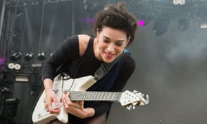 Annie Clark, aka St. Vincent: one of Beats1's posse of presenters