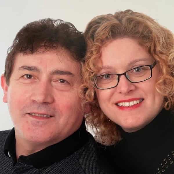 Joanne Ciavarella and her husband, Leo