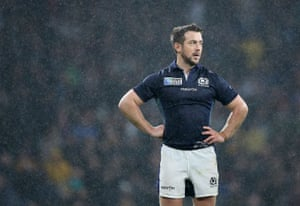 A dejected Greig Laidlaw reflects on the defeat to Australia at the World Cup.