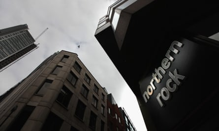 Northern Rock building in London