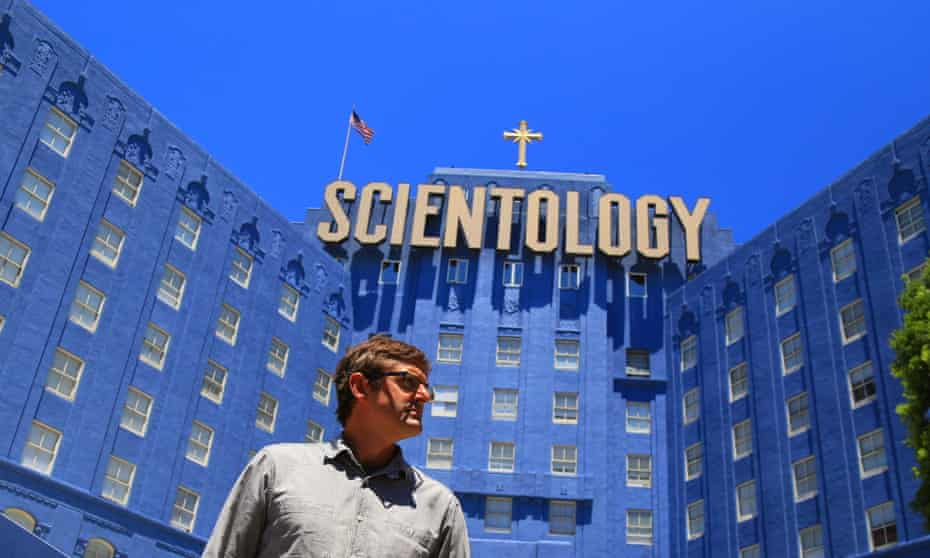 Some gloriously surreal moments … Louis Theroux in My Scientology Movie.