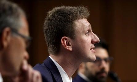 Aleksandr Kogan testifies before the Senate Subcommittee on Consumer Protection in June 2018.