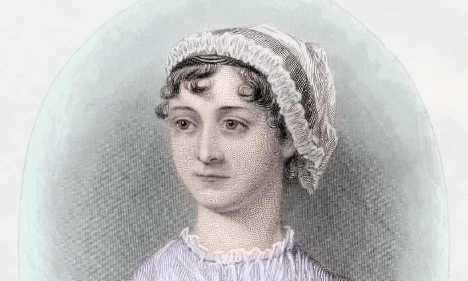 A portrait of Jane Austen circa 1850.