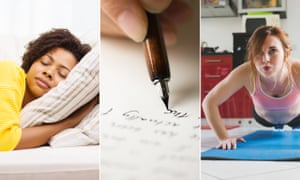 Power nap, write or exercise your way to calmness.