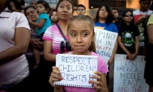 central american children immigrants