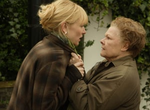 Cate Blanchett, left, as Sheba Hart and Dame Judi Dench as Barbara Covett in Notes on a Scandal.