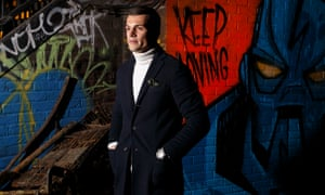 Arsenal's Granit Xhaka pictured in Camden, north London. 'People probably don't expect an Arsenal player to come to Camden Lock and, basically, be a normal guy.'