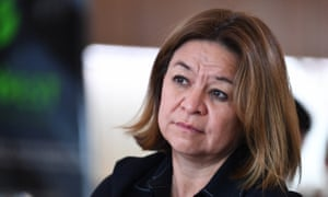 Former ABC boss Michelle Guthrie