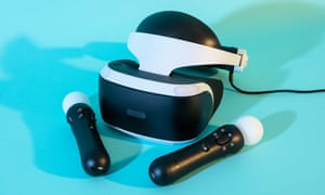 the playstation vr headset