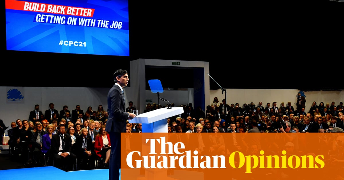 The Conservative conference shows a party in denial while all around is crisis
