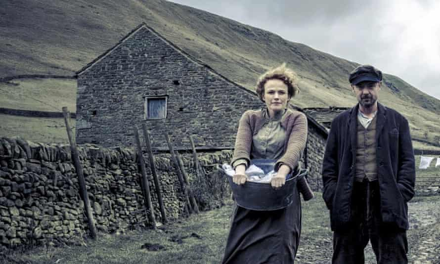 Northern lights: as Grace Middleton in The Village, with John Simm, for which she received a Bafta nomination.