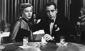Gloria Grahame and Humphrey Bogart in Nicholas Ray's 1950 film In a Lonely Place.