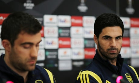 Mikel Arteta sounds warning as Arsenal prepare for challenge of Olympiakos