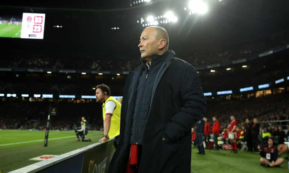 Eddie Jones saw his England side beat Wales in the last round of Six Nations matches.