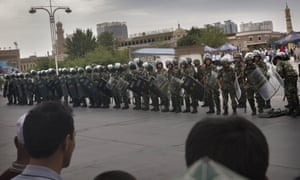 China has increased security in many parts of the restive Xinjiang province following some of the worst violence in months.