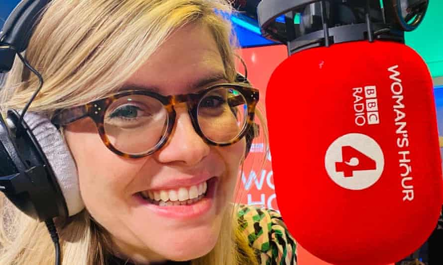Emma Barnett on her first day of hosting Woman's Hour on Radio 4.