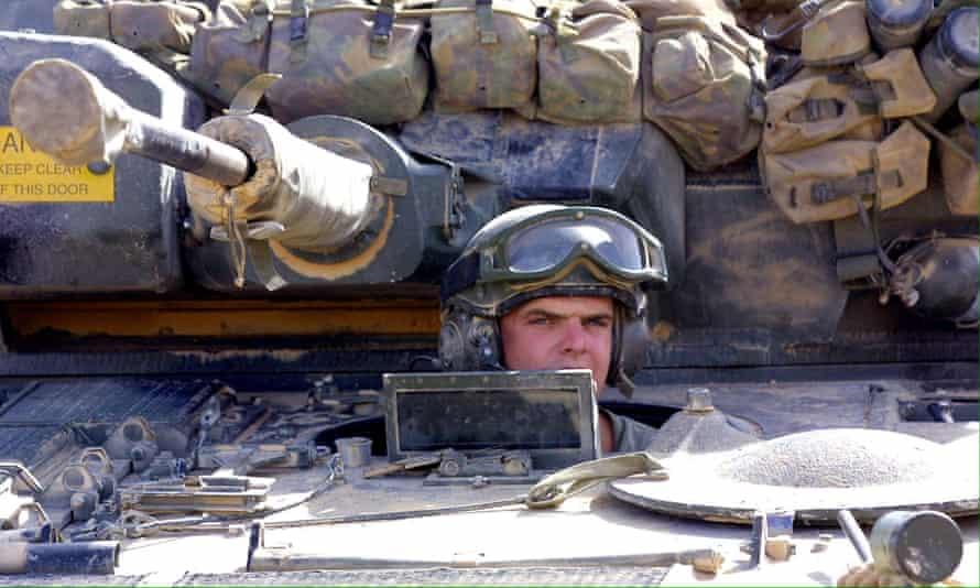 British tank operator