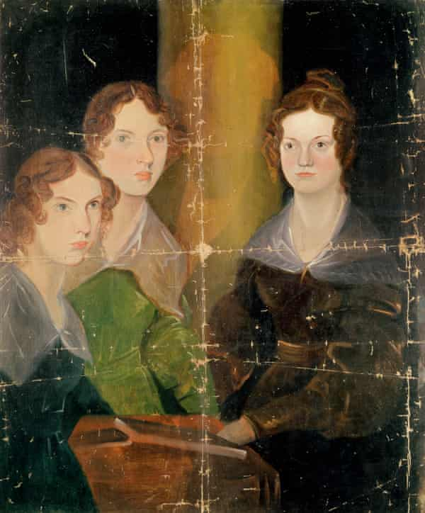 Lange's inspiration … Portrait of the Bronte Sisters, c.1834 (oil on canvas) by Patrick Branwell Bronte.