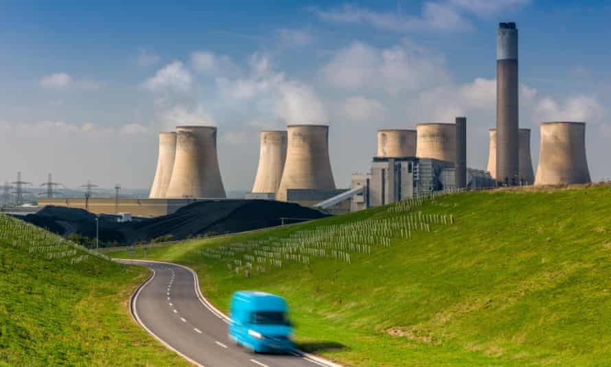 Uniper, which runs Ratcliffe coal power station pictured here, rejected the call to ban coal from capacity market auctions.