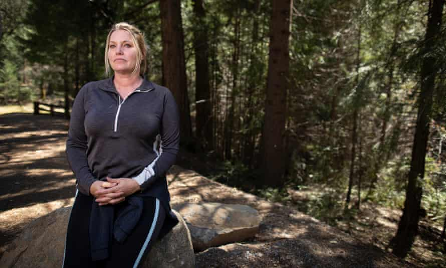Denice Rice, a firefighter who is part of a lawsuit combatting sexual harassment in the US Forest Service.