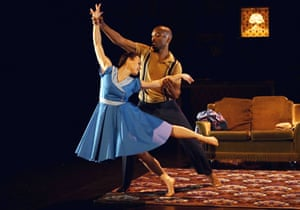 Vanessa Vince-Pang and Prentice Whitlow in Windrush.