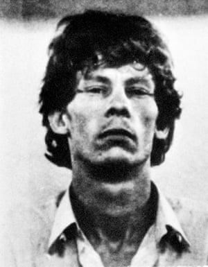 Gilles Bertin's police mugshot from 1988.