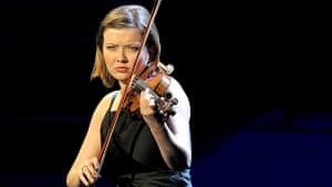 Alina Ibragimova plays Bach at Prom 19.