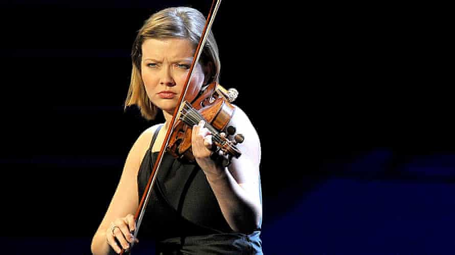 Alina Ibragimova plays Bach at Prom 19.