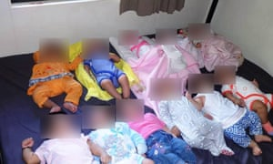 Group of babies born in detention centres and facing deportation to Nauru  and Manus.