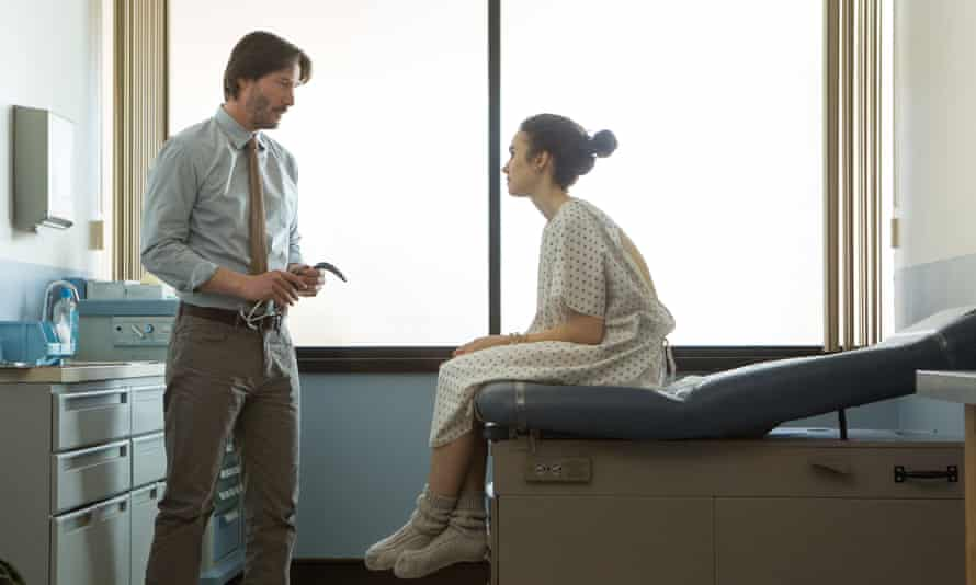 Keanu Reeves Lily Collins To the Bone