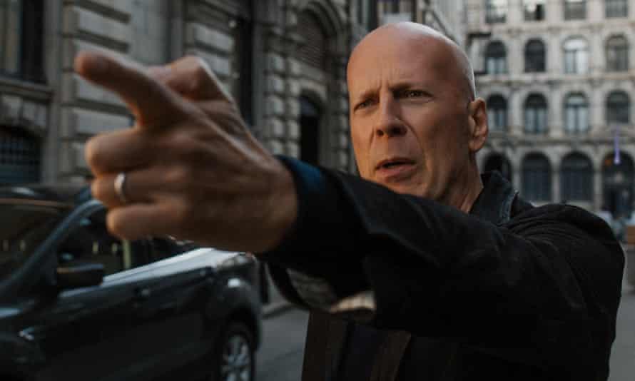 Off target … Bruce Willis in Death Wish.