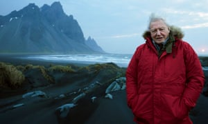 David Attenborough in Seven Worlds, One Planet.