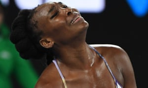 The break of serve is not good news for Venus Williams.