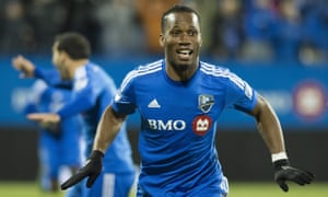 Didier Drogba scored 12 goals in 14 league games in Montreal.