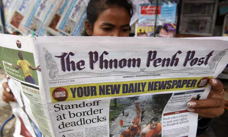 The Phnom Penh Post has been sold to the owner of a Malaysian PR company.