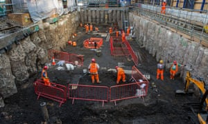 Archaeological excavations at Crossrail, Liverpool Street, London