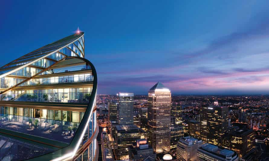 An artist's impression of Spire London.