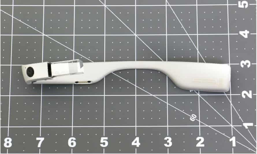 The FCC's image of the new Google Glass hardware