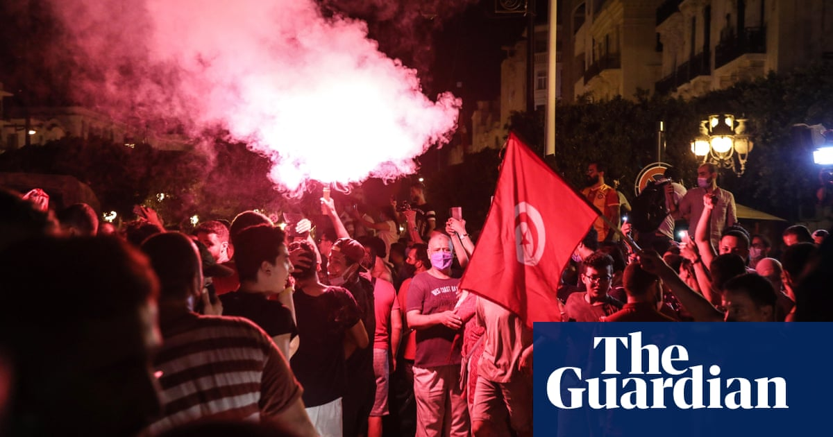 Tunisia in turmoil as president purges officials and seizes judicial power