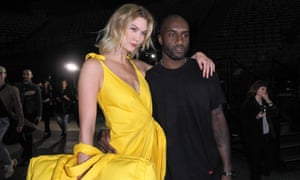 Karlie Kloss with Virgil Abloh
