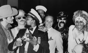 Henri Belolo, third right, with Village People in 1979.