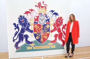 'The coat of arms is all around us in Britain,' says Stella McCartney.