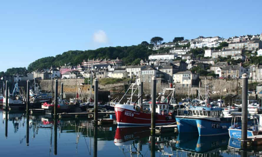 """Fishing boats in Newlyn harbour, Cornwall: 'Brexiters think that the reason why voters objected to """"immigration from the EU"""" or """"fishing boats from the EU"""" were the letters """"E"""" and """"U"""", when in fact they were the words """"immigration"""" and """"fishing boats""""'"""