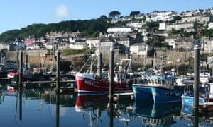 Fishing boats in Newlyn, Cornwall