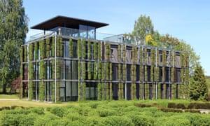 The ecological Green house Botanical garden, Vilnius