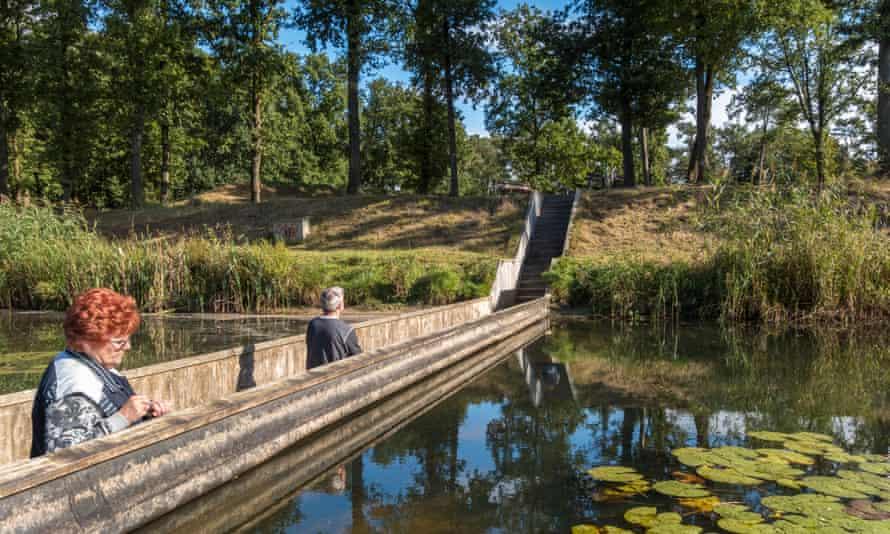 Moses Bridge, Halsteren, Netherlands.