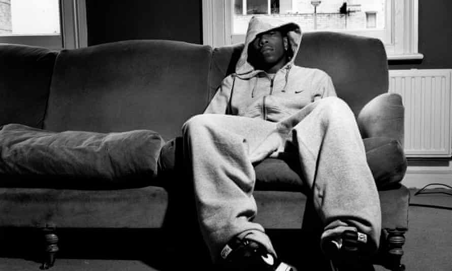 Dizzee Rascal in a Stratford tower block demolished for the 2012 Olympics