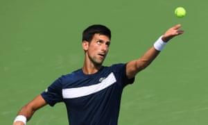 Novak Djokovic, who attributes his return to form to a gluten-free diet.